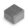 Тротуарная плитка Брусчатка 10-10-6 серый Ф'южн