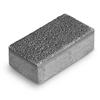 Тротуарная плитка Брусчатка 20-10-6 серый Ф'южн