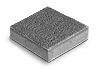 Тротуарная плитка Брусчатка 20-20-6 серый Ф'южн