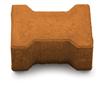 Тротуарная плитка Двойное Т 20-16-8 Терракота