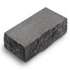Фасадный камень углов серый рустик