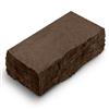 Фасадный камень углов венге рустик