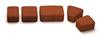 Тротуарная плитка Римский камень К-6 ТЕРРАКОТА